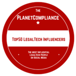 The PlanetCompliance Top 50 LegalTech Influencers on Social Media